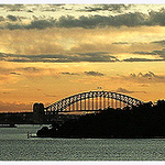 Winter Sunset / Sydney