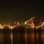 Na prvniho maje o pulnoci -Forth rail bridge Edinburgh