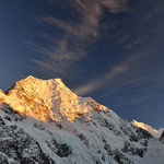 sunrise at Mt.Cook national park